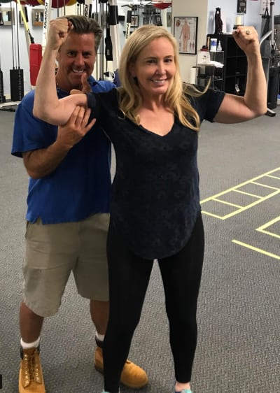 Shannon Beador Hits the Gym