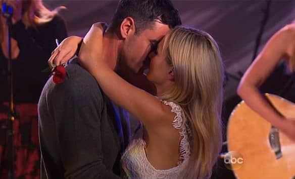 Ben and Lauren Kiss