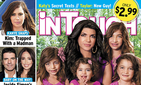 Teresa Giudice In Touch Cover