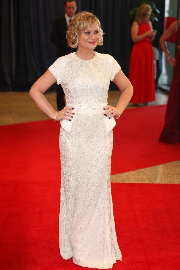 Amy Poehler Red Carpet Pose