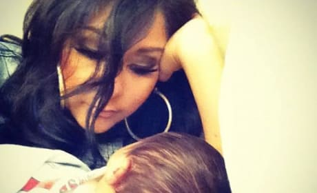 Snooki and Baby Photo