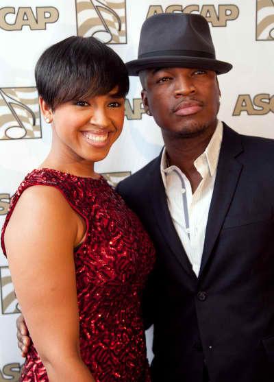 Ne-Yo and Monyetta Shaw Pic