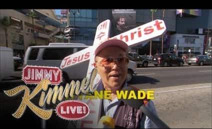 Jimmy Kimmel to Pedestrians: Spell Dwyane Wade, Win $100!