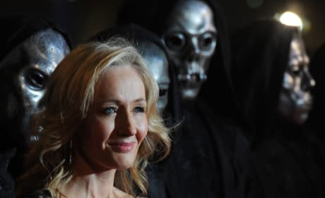 JK Rowling Movie Premiere Pic