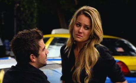 Lauren Conrad and Jason Wahler