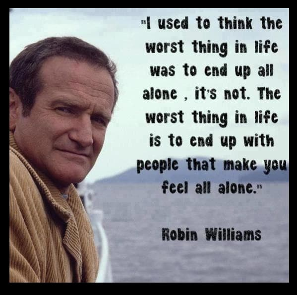 Robin Williams Quote | 21 Memorable Robin Williams Quotes Page 2 The Hollywood Gossip