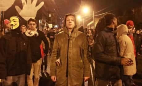 Macklemore at Ferguson Protest Rally