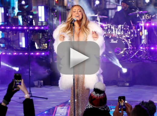 Mariah carey on new years eve did she redeem herself