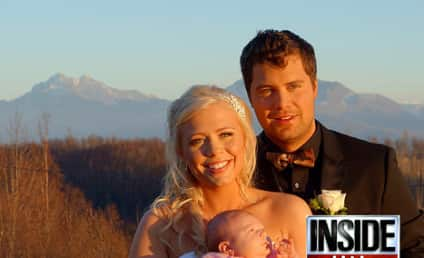 Levi Johnston-Sunny Oglesby Wedding Photos: So Happy Together!