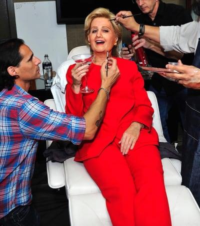 Katy Perry as Hillary Clinton