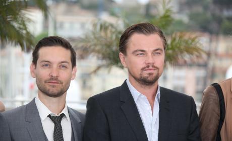 Leonardo DiCaprio and Tobey Maguire