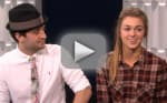 Sadie Robertson and Mark Ballas Interview