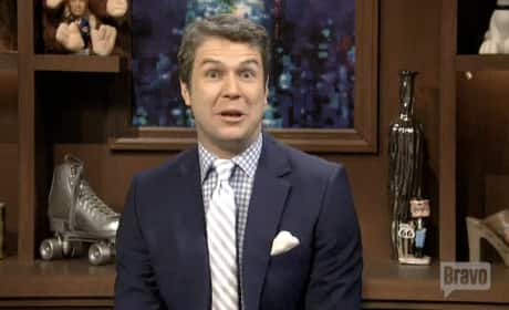 Andy Cohen Saturday Night Live Parody