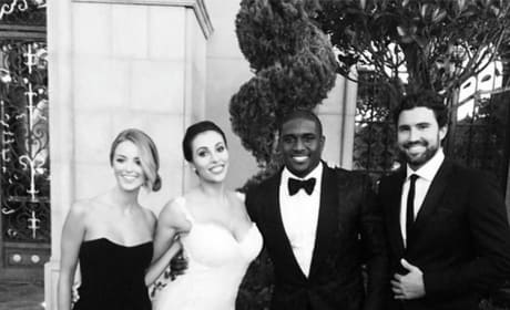 Brody Jenner at Reggie Bush Wedding Photo