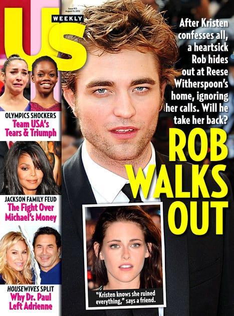 Robert Pattinson Walks Out