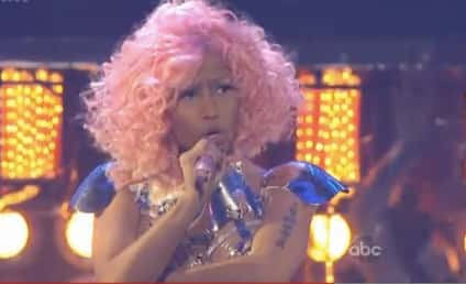 Nicki Minaj Opens the American Music Awards, Wears Boob Clocks, Butt Speakers