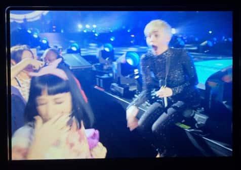 Katy Snubs Miley