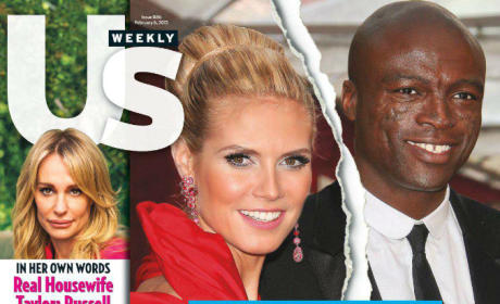 Heidi Klum and Seal Cover
