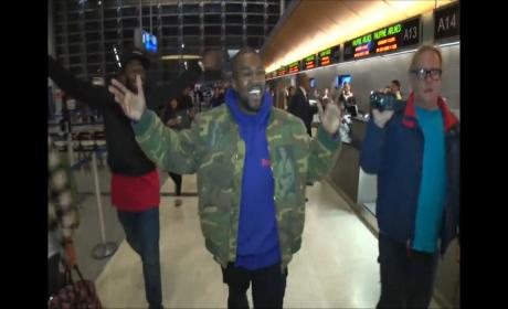 Kanye West Responds to Rob Kardashian & Blac Chyna Engagement: WATCH!