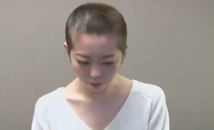 Pop Star Shaves Head in Shame, Films Apology For Spending Night With Boyfriend
