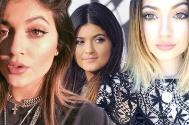 Kylie Jenner Then and Now
