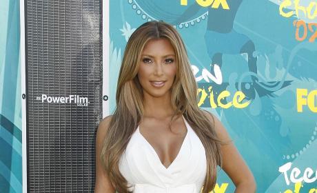 Kim Kardashian : Teen Choice Awards 2009