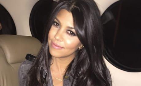 Kourtney Kardashian Instagram Pic