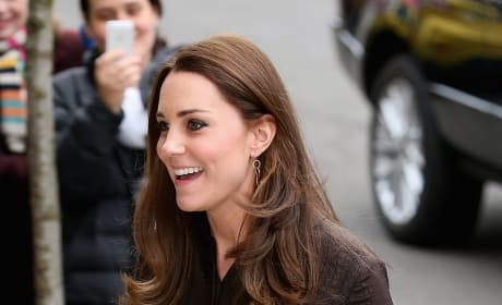 Kate Middleton Bandaged Finger