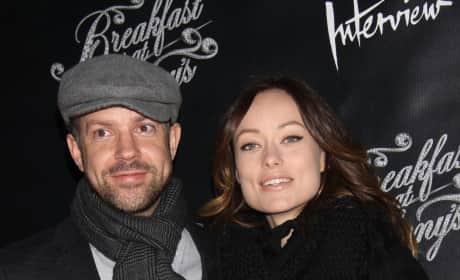 Jason Sudeikis with Olivia Wilde