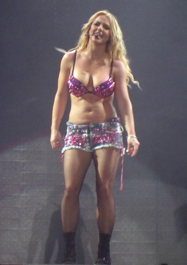 Britney spears bikini in concert, nude vera farmiga