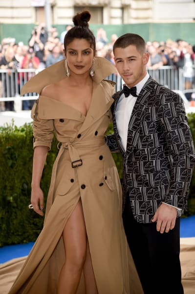 Priyanka Chopra and Nick Jonas at the 2018 MET Gala
