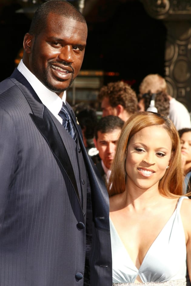 Shaquille and Shaunie O'Neal