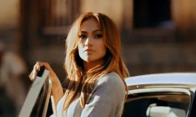 Jennifer Lopez Fiat Commercial Still