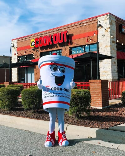 cook out mascot