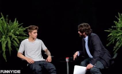 Justin Bieber: Spanked by Zach Galifianakis!