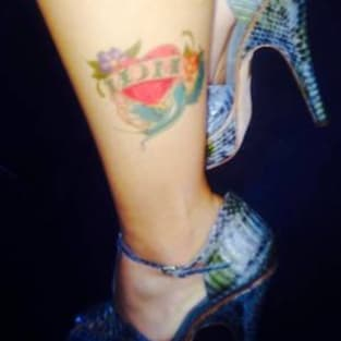 Farrah Abraham Mom Tattoo