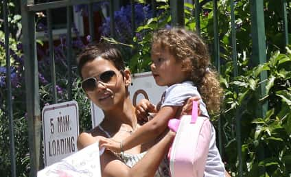 Halle Berry Poses for Halle by Halle Berry Campaign