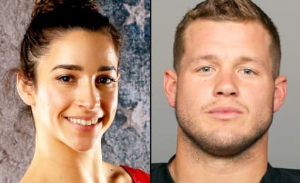 Aly Raisman Accepts Date from Tight End: Watch! Swoon!