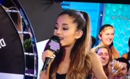 Ariana Grande Drops F-Bomb After F-Bomb During Live MTV Performance