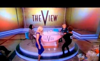 Jenny McCarthy Debuts on The View, Twerks