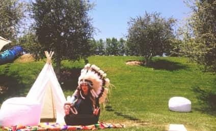 "Khloe Kardashian Slammed as ""Insensitive"" for Wearing Native American Attire"