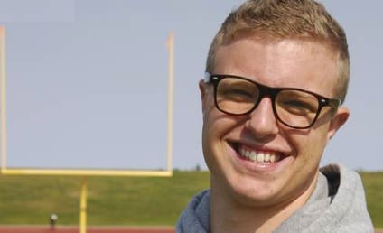 Gay Football Player Kicked Off College Team For Kissing Older Man?