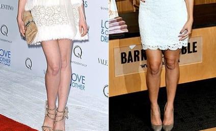 Fashion Face-Off: Anne Hathaway vs. Lauren Conrad