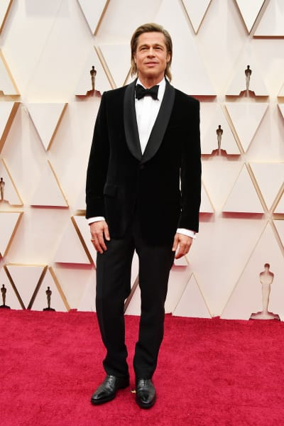 Bradas Pittas 2020  At the Oscars
