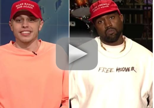 Pete davidson takes kanye west all the way down