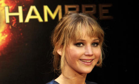 Jennifer Lawrence in Madrid