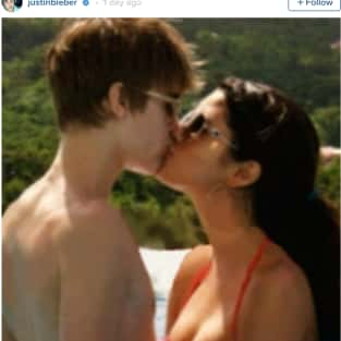 Jelena Throwback Photo