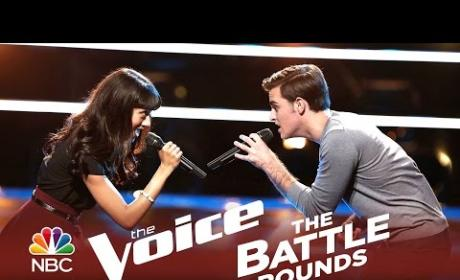 Ricky Manning vs. Brittany Butler (The Voice Battle Round)