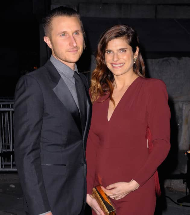 Scott Campbell and Lake Bell
