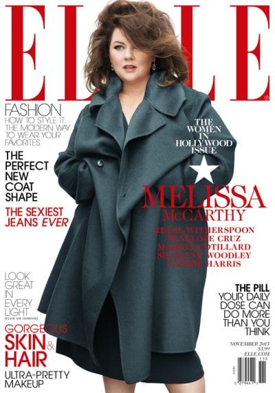 Melissa McCarthy Elle Cover